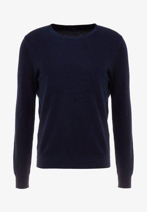 CASH CREW - Pullover - darkest indigo