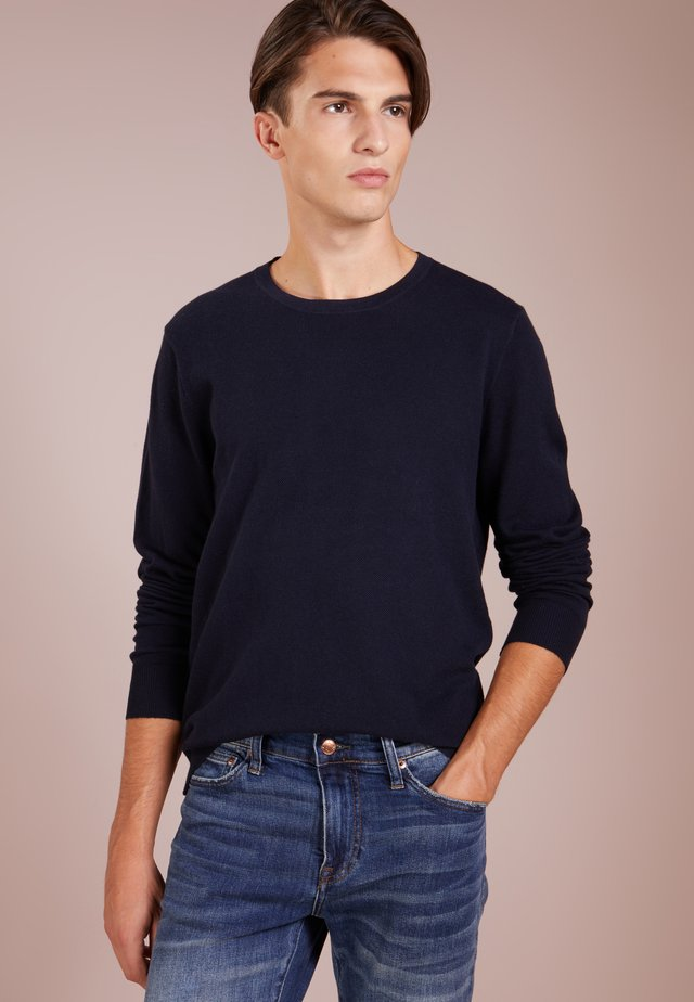 CASH CREW - Sweter - darkest indigo
