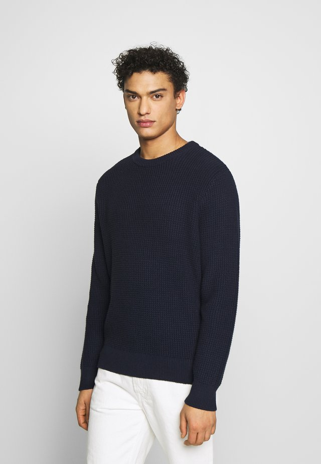 WAFFLE CREW - Maglione - navy