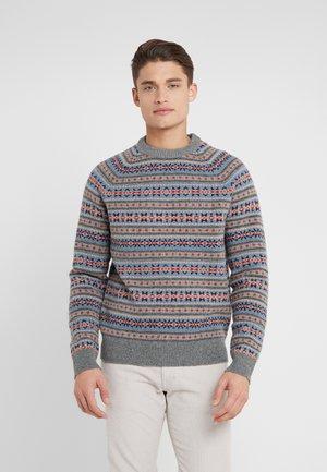 BRENT CREW - Pullover - fairisle