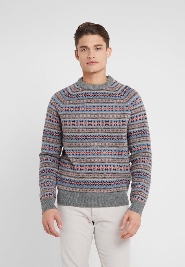 BRENT CREW - Sweter - fairisle