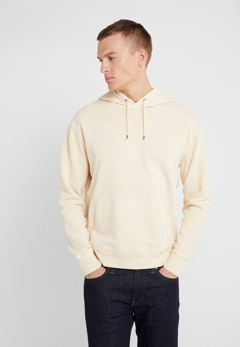 J.CREW - DYE FRENCH TERRY HOODY - Jersey con capucha - canvas