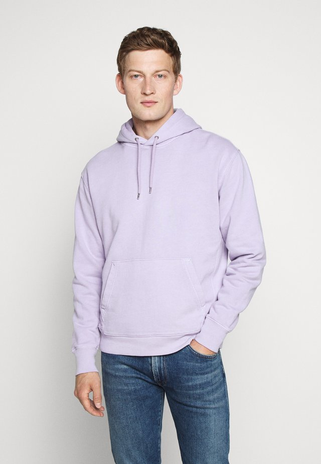 DYE FRENCH TERRY HOODY - Bluza z kapturem - misty grape