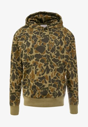 CLASSIC FRENCH TERRY HOODY - Mikina skapucí - olive duck