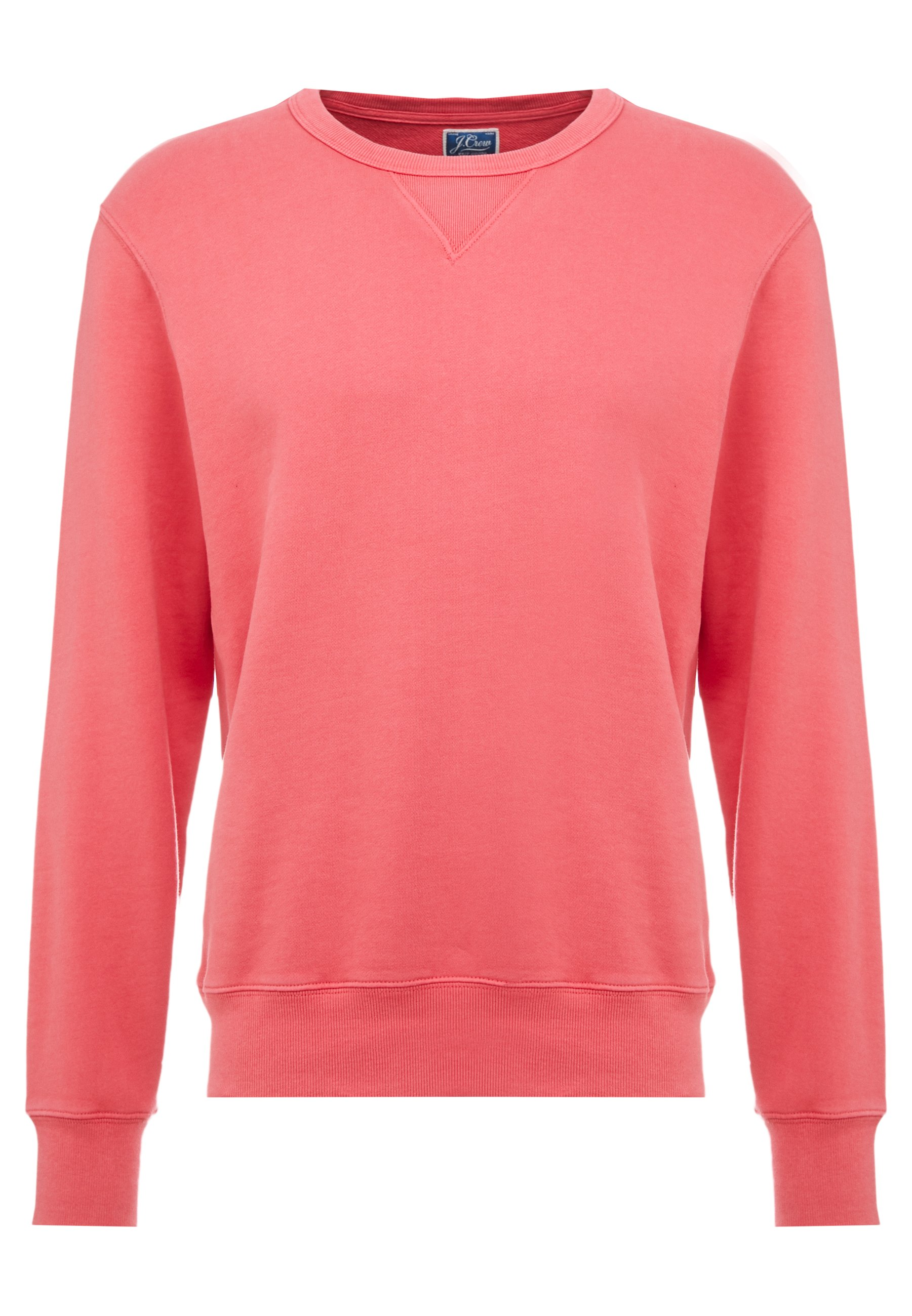 J.CREW CLASSIC FRENCH TERRY - Sweatshirt - moroccan red