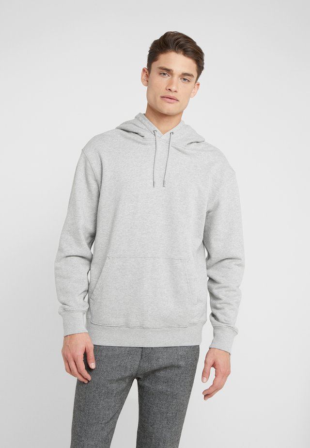 CLASSIC FRENCH TERRY HOODY - Bluza z kapturem - grey