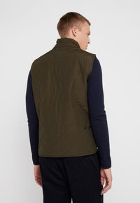 J.CREW - SUSSEX VEST - Väst - evergreen moss - 2