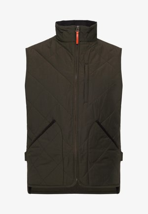 SUSSEX VEST - Veste sans manches - evergreen moss