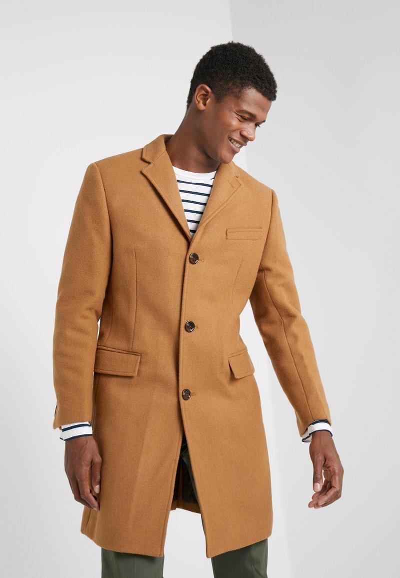 J.CREW - EVERYDAY TOPCOAT SOLID - Classic coat - dark camel