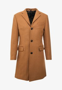 J.CREW - EVERYDAY TOPCOAT SOLID - Classic coat - dark camel - 3
