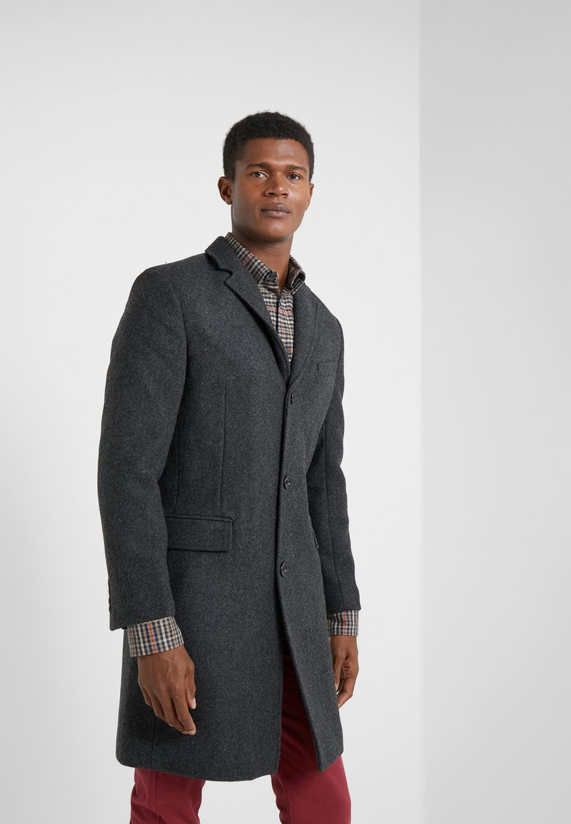 J.CREW - EVERYDAY TOPCOAT SOLID - Cappotto classico - charcoal