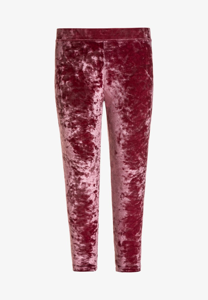 J.CREW - CRUSHED  - Leggings - Trousers - windsor burgundy