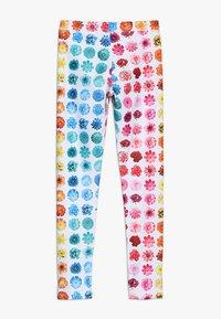 J.CREW - RAINBOW BUDS - Legging - yellow/pink/multicolor - 1