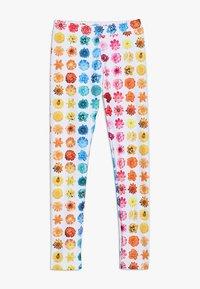 J.CREW - RAINBOW BUDS - Legging - yellow/pink/multicolor - 0