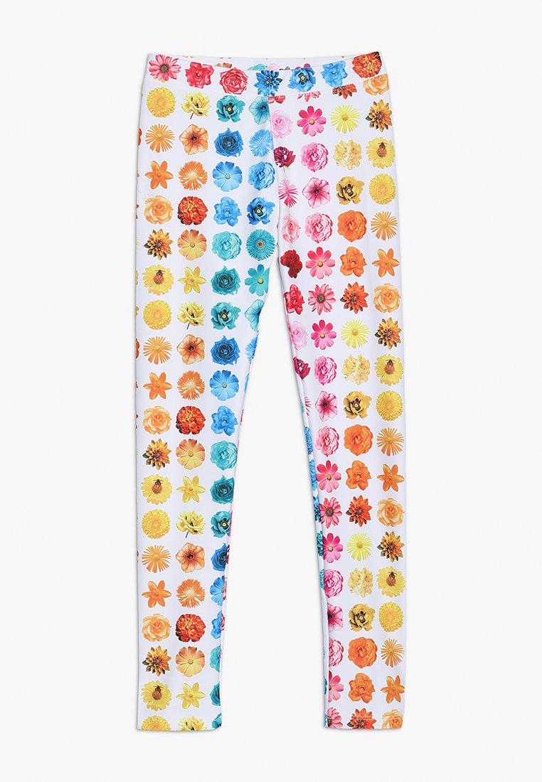 J.CREW - RAINBOW BUDS - Legging - yellow/pink/multicolor