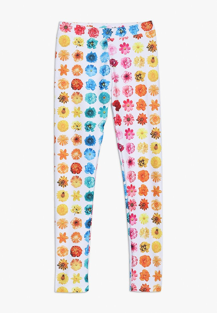 J.CREW - RAINBOW BUDS - Leggings - Trousers - yellow/pink/multicolor
