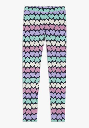 HEART - Leggings - Trousers - pink/lilac
