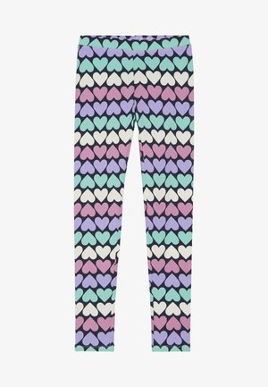 HEART - Leggings - pink/lilac