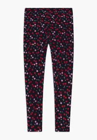 J.CREW - CHERRY - Legíny - navy red pink - 0