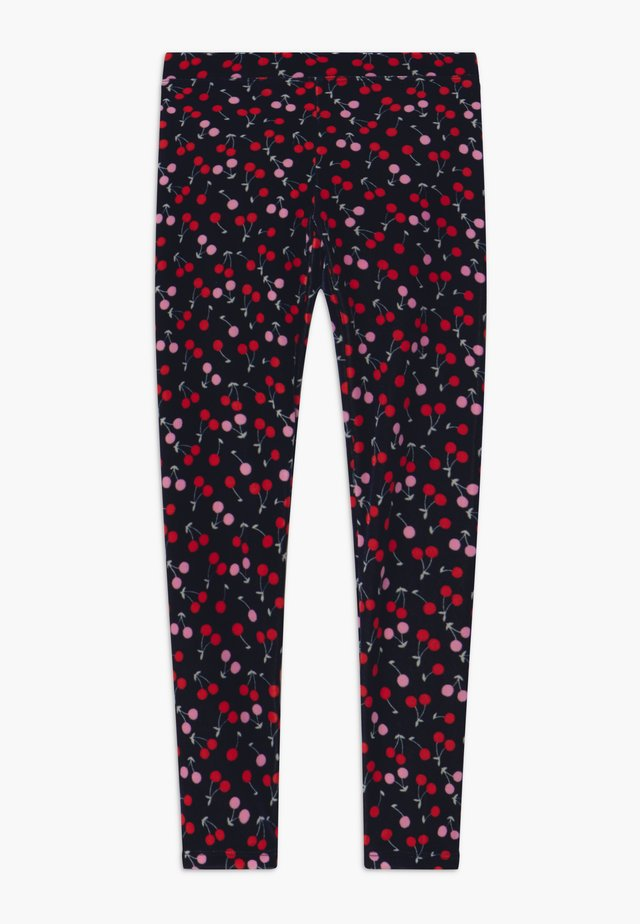 CHERRY - Leggings - Hosen - navy red pink