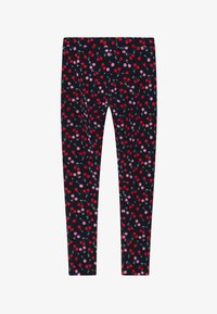 J.CREW - CHERRY - Legíny - navy red pink - 2
