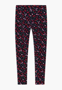 J.CREW - CHERRY - Legging - navy red pink