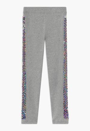 Leggings - Trousers - grey rainbow