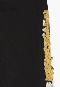 J.CREW - Legging - black gold silver - 3