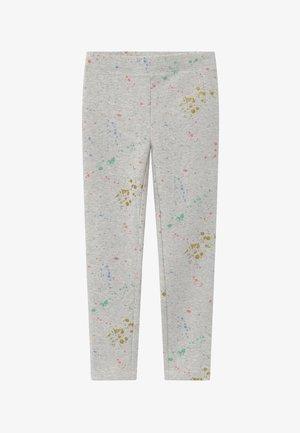 SPLATTER  - Leggings - Trousers - grey/pink/multicoloured