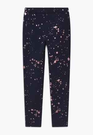 SPLATTER  - Leggings - navy pink