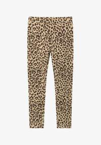 J.CREW - LEOPARD - Leggings - Trousers - natural brown - 2