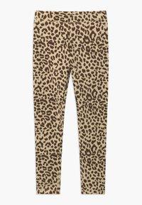 J.CREW - LEOPARD - Leggings - Trousers - natural brown - 0