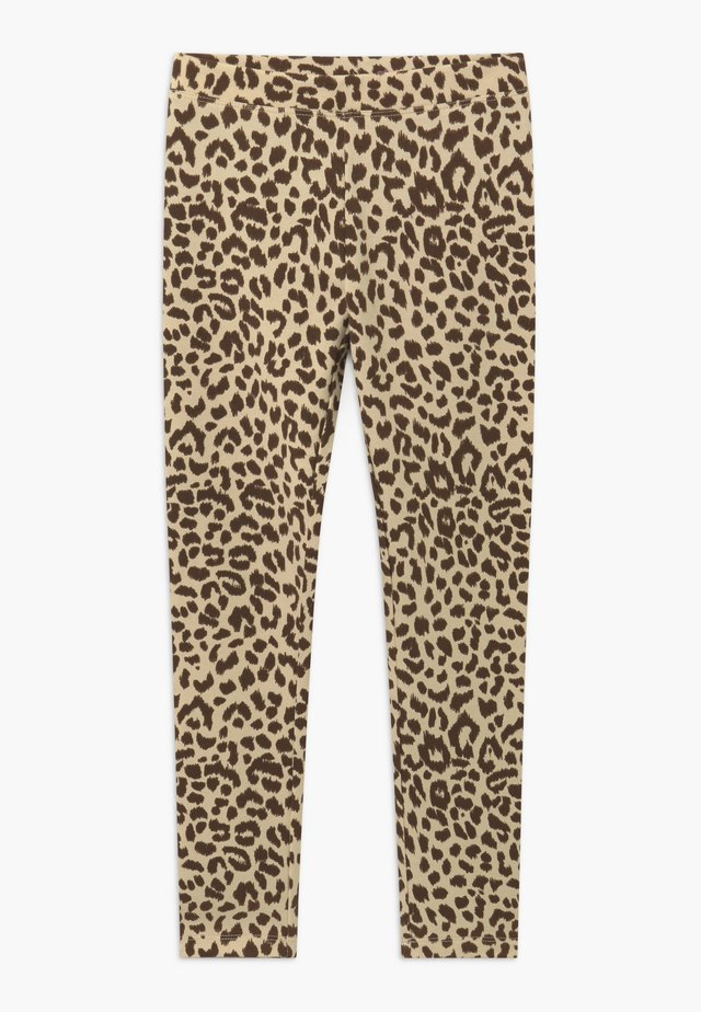 LEOPARD - Leggingsit - natural brown