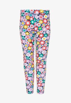 CRAZY DAISY - Leggings - Trousers - poppy yellow/multicolor