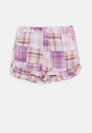 MADRAS ELSA  - Shorts - purple