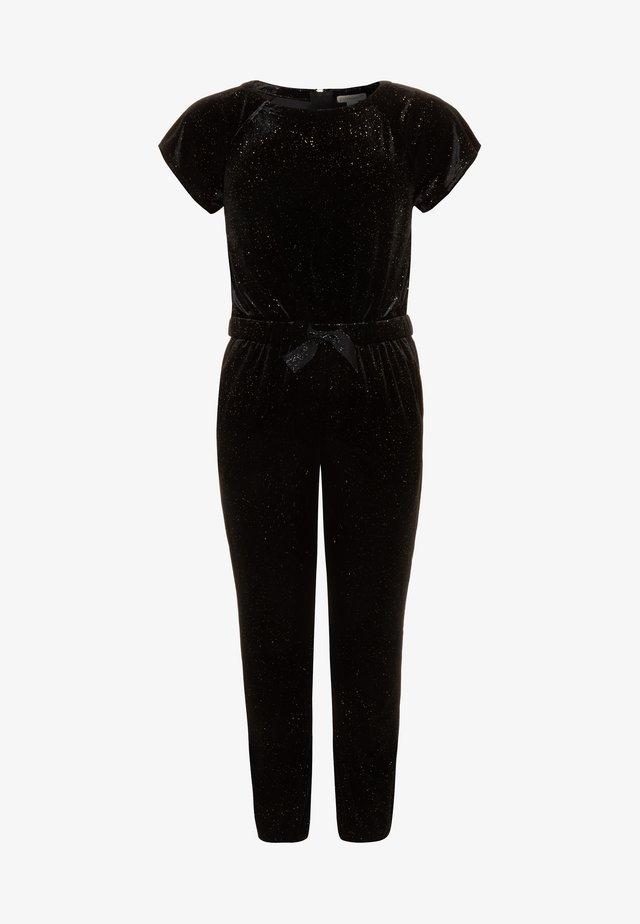 FLUTTER SHINE - Jumpsuit - black/gold