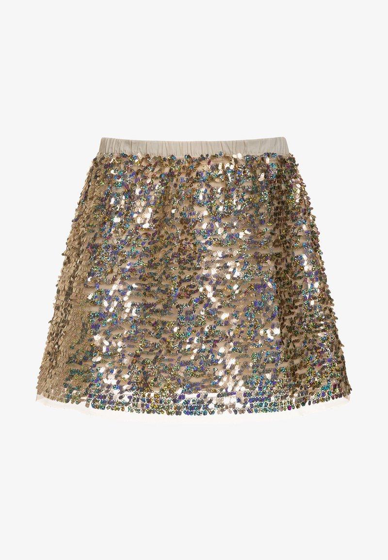 J.CREW - HOLLY SEQUIN SKIRT - A-line skirt - gold