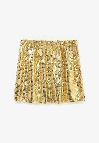 J.CREW - GOLD SEQUIN SKIRT - A-line skirt - gold multi - 2