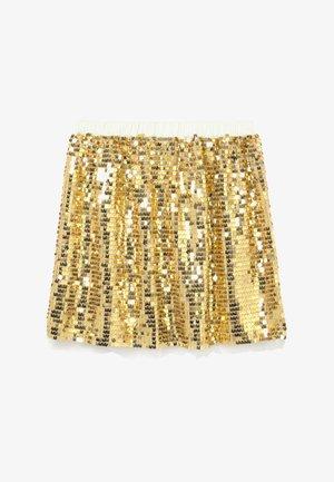 GOLD SEQUIN SKIRT - A-line skirt - gold multi