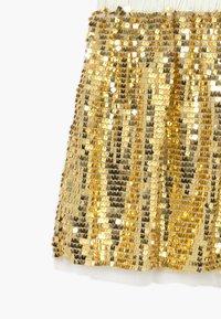 J.CREW - GOLD SEQUIN SKIRT - A-line skirt - gold multi - 3