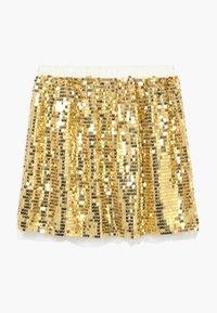 J.CREW - GOLD SEQUIN SKIRT - A-line skirt - gold multi - 1