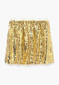 J.CREW - GOLD SEQUIN SKIRT - A-line skirt - gold multi - 0