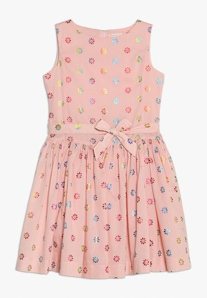 EMBOSSED VIV DRESS - Vestido de cóctel - pink/multi