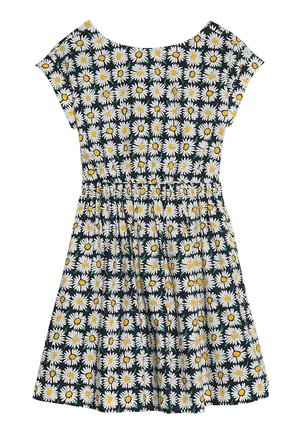 PIA DRESS PRINTED POPLIN - Freizeitkleid - navy/ivory