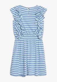 J.CREW - DAPHNE RUFFLE DRESS - Jerseykleid - goulding/sea pale mint - 1