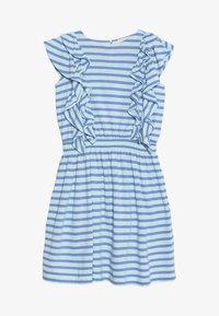 J.CREW - DAPHNE RUFFLE DRESS - Jerseykleid - goulding/sea pale mint - 3