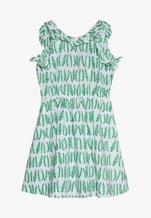 KATIA DRESS - Vapaa-ajan mekko - white/green