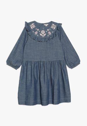 PANSY DRESS - Robe en jean - indigo