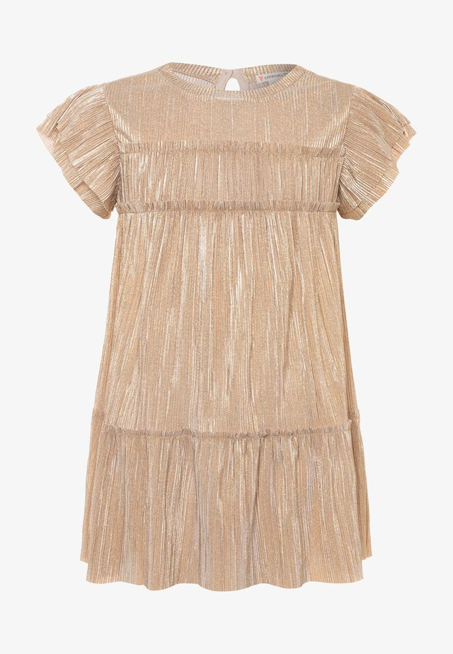 JANELLE DRESS NEW SHIMMER - Cocktailjurk - gold