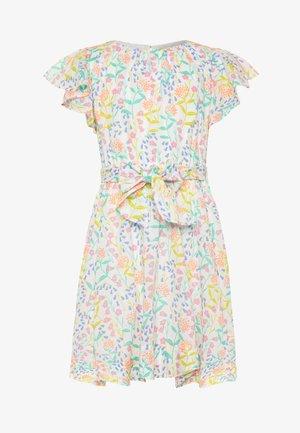 JESS DRESS VOILE - Sukienka letnia - coral aqua/multicolor